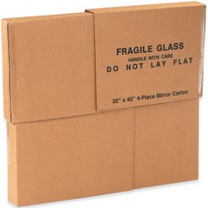 "4 Piece Mirror Box - 30"" x 40"" x 3 1/2"""